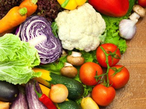 Image of fresh vegetables